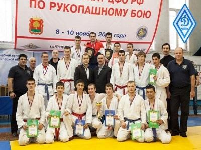 Липчанин Денис Фурсов получил золотую медаль Чемпионат ЦФО России по рукопашному бою